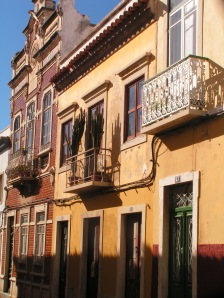 In Olhão's back streets