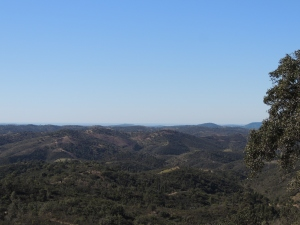 Looking south from Pelados, fabulous viewpoint on the N2