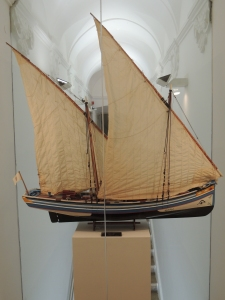 Bom Sucesso - a model of the ship that went to Brazil to inform the King Joao VI of the popular uprising
