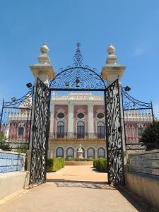 The stunning  Palácio de Estoi, now a state run luxury hotel