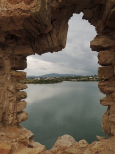 View from one of the ruined water mills