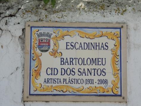 a Portuguese artist, his studio was here in Tavira