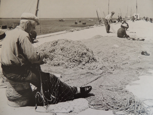 You'll still see the fishermen repairing their nets, but now they tend to do this either on their boats or in the harbour.
