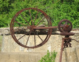 Close up of a Nora wheel
