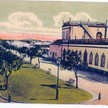 Then known as Avenue Dom Luiz