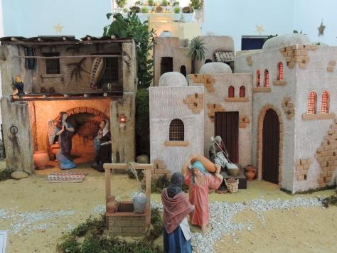 The presépio in Faro's old town