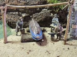 Scene from Faro's fireservice presépio