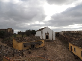 Inside the outer walls