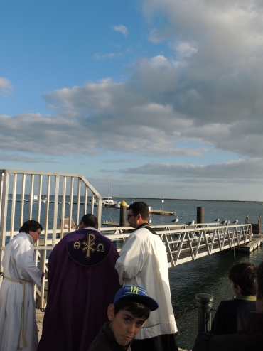 a cerimónia da Bênção do Mar