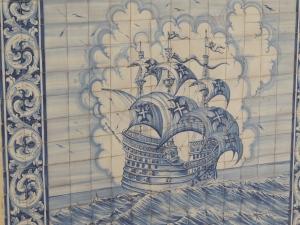 Azulejos at sea