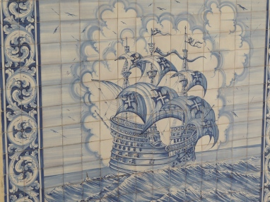 Azulejos at sea