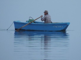 Returning from clam digging