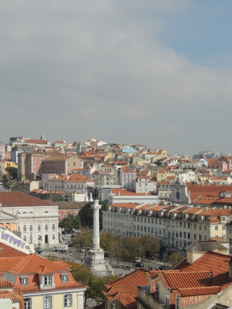 The convent as seen from Santa Justa
