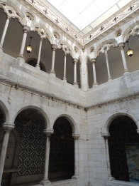 Lower cloister