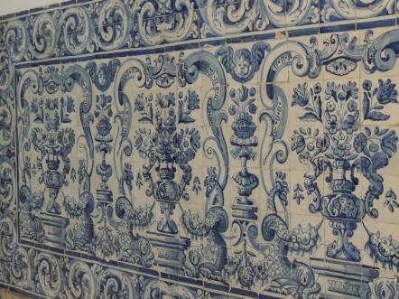 Tiles from Convento de Sante Ana.