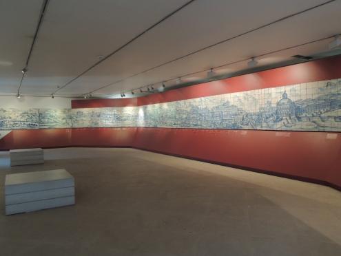 Lisbon view panel