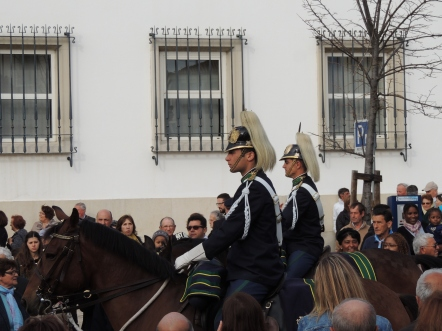 Guards on Horseback