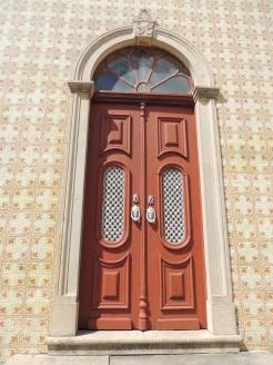 West wing door