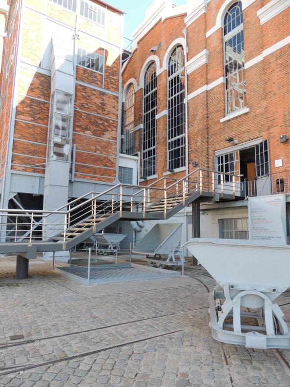 entrance to the Museu da Eletricidade