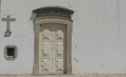 Church door in Tavira
