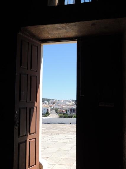 Open door in Loule