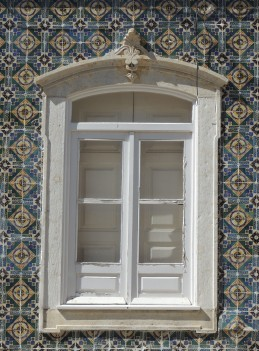 Shutters in Olhao