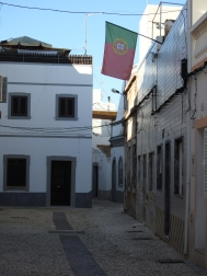 Flag in the Back Streets