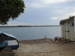 Fishing hut at Quatro Águas