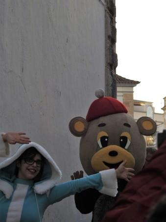 Mrs Christmas and the bear
