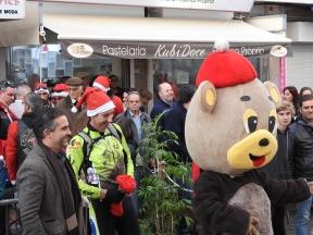 Mayor with the Bear