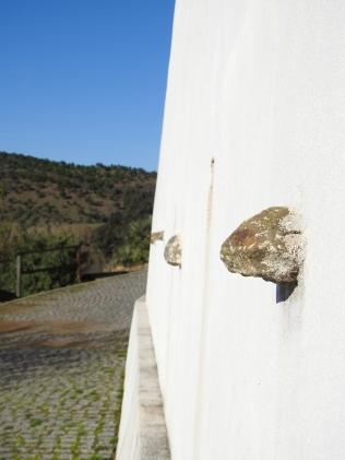 Tying stones