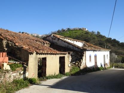 Funchosa de Cima on the hill