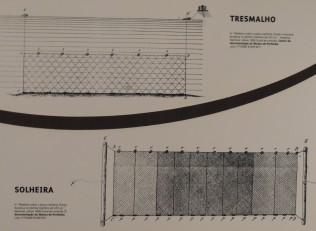 Trammel net fishing