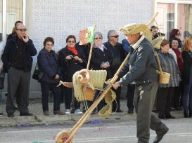 Hobby horse and baskets