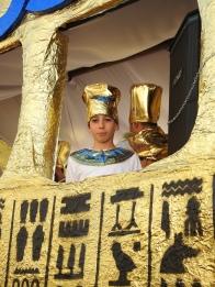 Pharaoh watching me