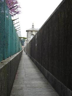 Southern walkway