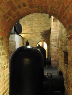 The steam pumps