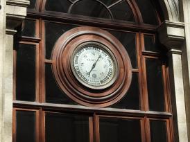 Dials around the courtyard