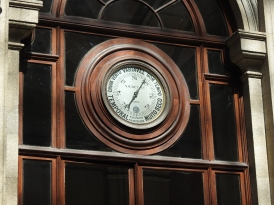 Dials around the courtyard