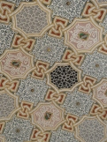 Ceiling in close-up