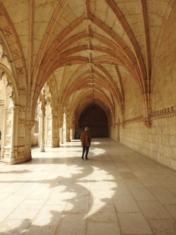 Quiet in the cloisters