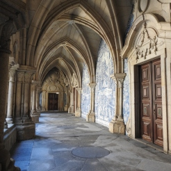 Walking in the cloisters
