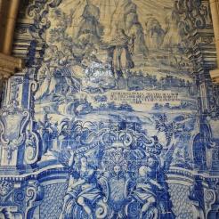 baroque azulejos by Valentim de Almeida (between 1729 and 1731)