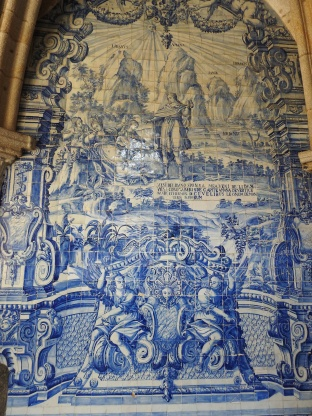 baroque azulejos by Valentim de Almeida (between 1729 and 1731)
