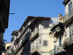 So much to see if you look up in Porto