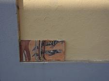 Hidden in a corner