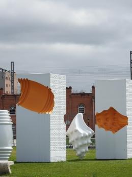 Ovos Moles de Aveiro - in sculpture
