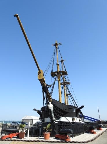 17th century frigate