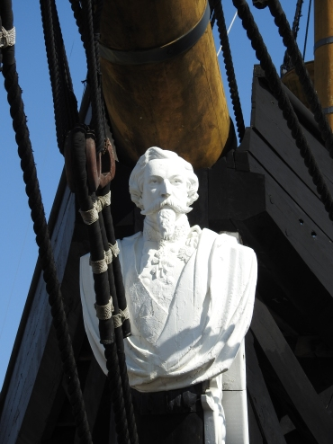 Rather grand figurehead