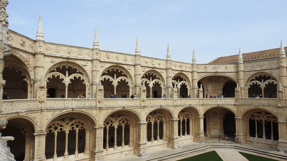 Cloister view